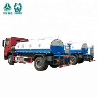 Quality 10000 / 20000 Liter SS Water Tank Truck With Spraying Range Wide Feature for sale