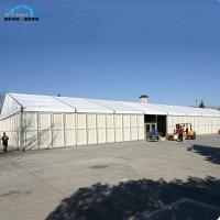 Quality Cutomized Temporary Warehouse Marquee , Storage Warehouse Tent Rocky Walls for sale