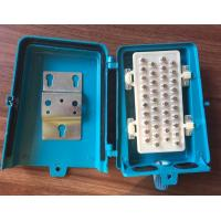 Quality Outdoor Telephone Terminal Box 20 Pairs Screw Type Waterproof Aluminum Wiring Box for sale