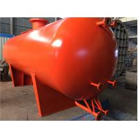 Quality Red Gray High Capacity GRP Liquid / Gas Storage Tanks For Industrial / Chemical for sale