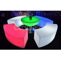 Rgb Colorful Led Lounge Chair Light Up Furniture For Yard