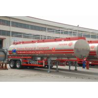 Quality 2 AXLES-Aluminum Alloy Tank Semi-Trailer for sale