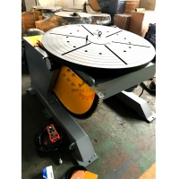 Quality 2000kg Rotary Welding Positioner Welding Table Turntable 0-90 Deg Position for sale