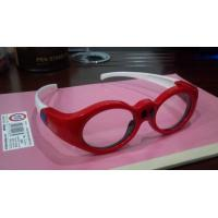 China 3D DLP Link Active Shutter 3D TV Glasses With LCD Lenses Rechargeable For Kids on sale