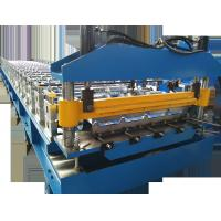 Quality Roll Forming Machine  IBR Roof Panel Trapezoidal Roofing Sheet Roll Forming Line Metal Profile Machines for sale