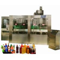 China 4 In 1 PVC/PET / PP bottled Water Production Line For Apple / Orange / Grapefruit Juice on sale