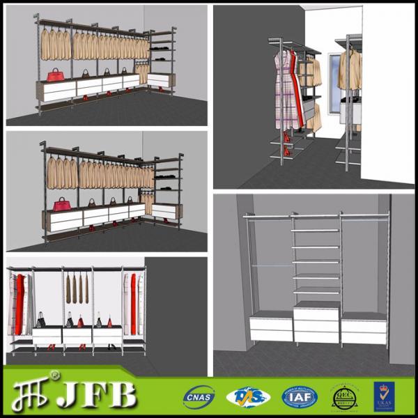 Bedroom Closet Organizers Walk In Closet Aluminium Post For Closet For