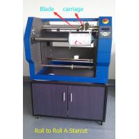 China Roll to Roll Label Digital Cutter Using Blade to Cut Labels from Paper Sticker on sale