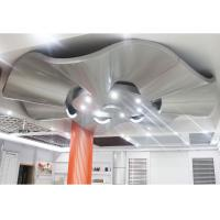 Corrugated Aluminum Wall Panels / Architectural Metal Ceiling Tiles Suspended
