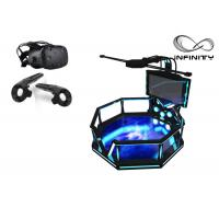 Quality 56 Inch Screen Virtual Reality Equipment , Steel Material 9D VR Game Machine for sale
