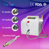 Quality 2016 factory hottest rf fractional microneedle machine for skin tightening skin whitening for sale