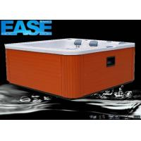 China Portable Hot Tub Whirlpool Massage Bathtub Outdoor Spa with 6 Seats,Plastic Jet Ring Trim on sale