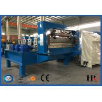 Quality Metal Window / Door Frame Cold Roll Forming Machine With Hydraulic Cutting for sale