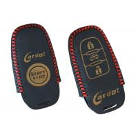 Quality ABS Materil Car Smart Key Leather Cover Chemical / Heat / Corrosion Resistance for sale