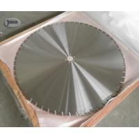 Buy cheap 4.8mm / 5mm Thick Concrete Wall Saw Blades 1000mm Laser Welded Diamond Saw from wholesalers