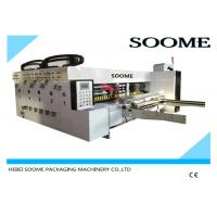 Quality Electric Rotary Die Cutter , Flexo Printer Slotter Machine 1 Year Warranty for sale