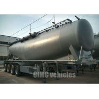 Quality Bulk cement trailer fly ash trailer land plaster tank trailer | CIMC TRAILERS for sale