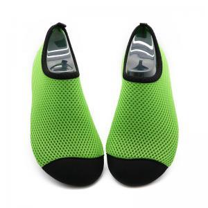 China Quick Drying Aqua Mesh Swim Shoes Lightweight Anti - Slip Rubber Sole on sale