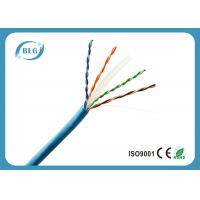 8 Cores Cat6 Shielded Ethernet Cable , Outdoor Cat6 Cable 1000 FT Eco Friendly