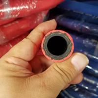 "Quality 1/2"" EPDM Steam Hot Water Hose Rubber Textile Braided For Food Processing Industry for sale"