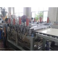 Buy 1220mm WPC crust foam board extrusion line at wholesale prices