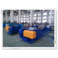 Quality Customized Tank Turning Rolls With Steel Roller For 150T 12M Job Shot Blasting for sale