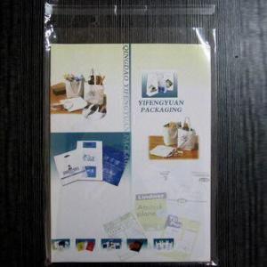 China OPP Krystal Seal Bag with Self-seal Strip on sale