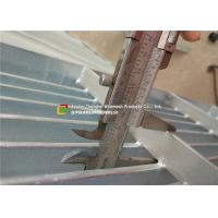 Quality Galvanized Flat Steel Bar Grating Anti - Corrosive Heat Dissipation for sale
