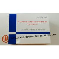 Quality Vitamine B Complexe Comprimes Medicine Tablet For Adults Water Soluble Function for sale