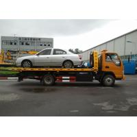Quality Flatbed Wrecker Tow Truck for sale
