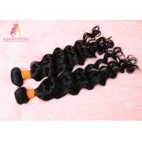Quality 20 Inch Virgin Human Hair Loose Wave Bundles / 10A Grade Brazilian Hair for sale