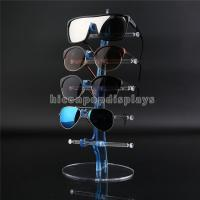 China Eyeglass Shop Countertop Commercial Eyewear Display Rods For 5 Pair Of Sunglasses on sale