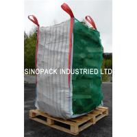 Quality Firewood ventilated mesh bulk bags with 100% vigin polypropylene for sale