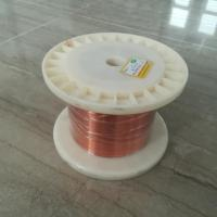 Buy cheap UEW Enamel Covered Copper Wire / Class 180 Self Bonding Enamelled Copper Wire from wholesalers