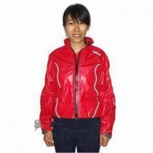 Quality Girl's Cycling Rainwear with Waterproof Zipper for sale