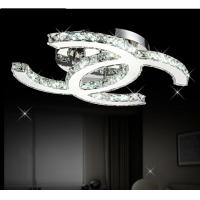 Buy cheap Modern CC design Led crystal Silver crystal Ceiling Lights from Wholesalers