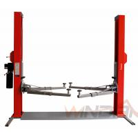 Dual Hydraulic Cylinders Two Post Car Lift With Adjustable Beam