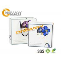Buy cheap Customized PVC Clear Plastic Packing Boxes / Cosmetic Paper Box from Wholesalers