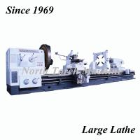 China High Spindle Speed Heavy Duty Lathe Machine Custom Voltage Long Lifespan on sale