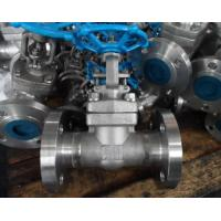 Quality 800LB Conventional Port Gate Valve , Flanged Gate Valve High Dependability for sale