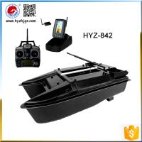 Quality Haoyazhi Fishing Tackle HYZ-842A RC Fish Finder Bait Boat For Sale for sale