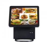 Pos Touch Screen Monitor With Aluminium Alloy Housing , 2 * 20 VFD Touch Screen Pos Terminal