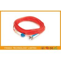 China ST / PC - LC / UPC Patch Cord Multimode Fiber MM 50 (125) 3M 3mm LSZH on sale