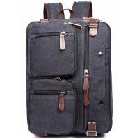 Buy Iron Grey Polyester Laptop Bag With Pockets Drop Resistance Large Capacity at wholesale prices