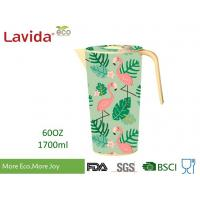 Buy cheap Tropical Nature Style Bamboo Water Jug Shatter Proof Recycled Material Beverage from wholesalers