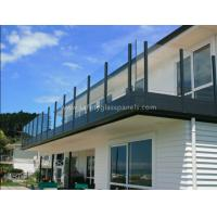 Indoor Decorative Structural Garden Balustrades Glass Handrails For Balcony