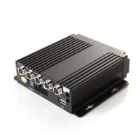 "Quality 4 Channel HD Vehicle Mobile DVR Car Video Recorder Support 2.5"" Sata HDD Card for sale"