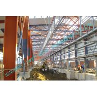 Quality H Column Metal Frame Type Prefabricated Steel Building For Industrial Use for sale