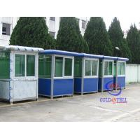China Toll Booth guard house Easy Installation , Security Guard Booths on sale