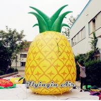 Quality 5m Height Inflatable Pineapple with Blower for Indoor and Outdoor Decoration for sale